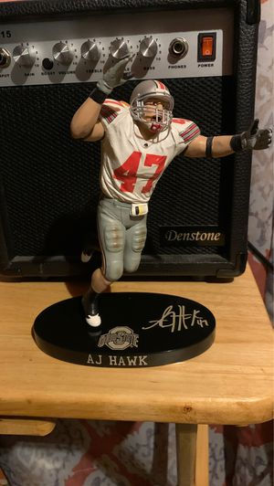 AJ Hawk Ohio State collectible statue for Sale in Parma, OH
