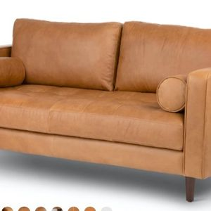 MCM Leather Sven Sofa From Article New for Sale in Seattle, WA