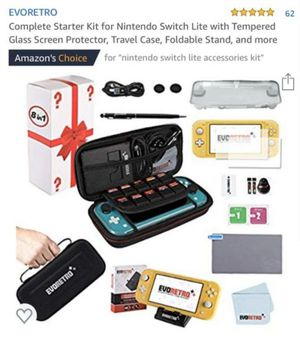 New Nintendo Switch lite Starter Kit bought wrong one :( for Sale in Lincoln Acres, CA