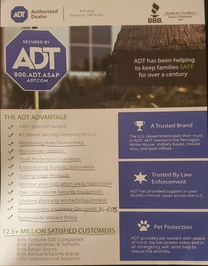 ADT SECURITY SYSTEM for Sale in Lockhart, FL