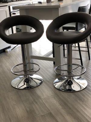 Set of adjustable bar stools for Sale in Washington, DC