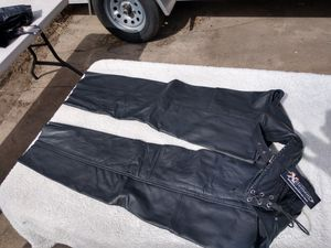 New x element women's motorcycle chaps. Genuine leather. Multiple sizes. for Sale in Denver, CO