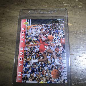Michael Jordan Basketball Card for Sale in Los Angeles, CA