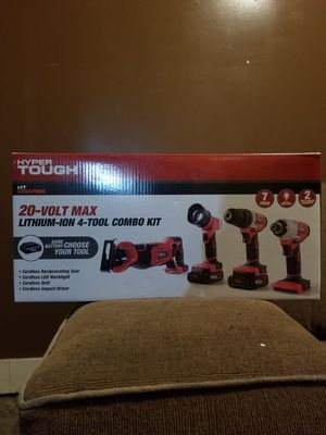 Hyper Tough 20V 4 tool combo kit for Sale in Chicago, IL