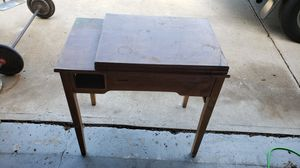 Antique sewing machine desk (no machine) for Sale in undefined