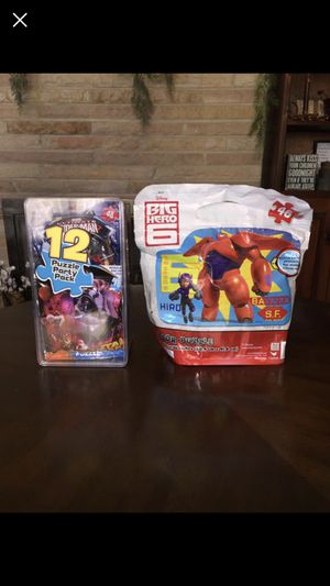 Kids puzzle sets for Sale in Marengo, OH
