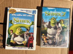 Shrek 1 & 2 for Sale in Glendale, AZ
