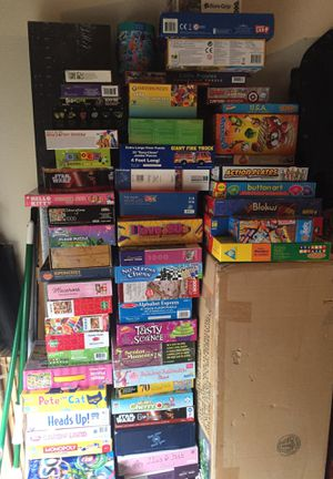 Games, Puzzles, Toys, Christmas Stuff, Lots of Stuff for Sale in Lewisville, TX