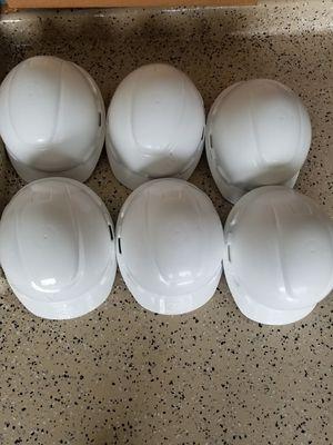 Work helmets 6 PC'S for Sale in Katy, TX
