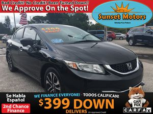 2015 Honda Civic for Sale in New Port Richey, FL