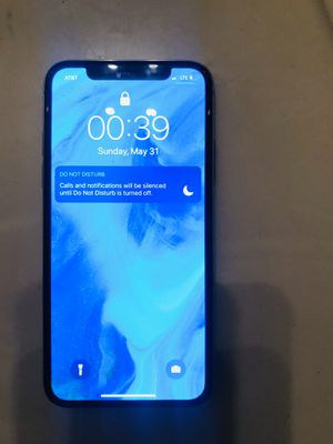 iPhone X 256GB att UNLOCKED LIKE NEW for Sale in Pearland, TX