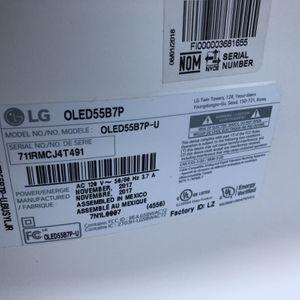 """55"""" 4K OLED LG TV for Sale in Fairfax, VA"""
