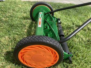 Scotts Elite 16 in. Manual Walk Behind Push Reel Lawn Mower for Sale in Rialto, CA