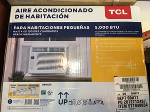TCL 5000 BTU LCD WITH REMOTE for Sale in St. Augustine, FL