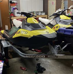 2015 sea doo spark 3 up... Skis Only! No Trailer. I Am On Wait List For 2021 And Need Trailer for Sale in Issaquah,  WA
