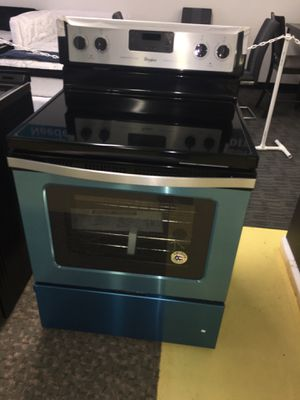 Brand New Stainless Steel Electric Stove With Warranty No Credit Check Just $54 de Enganche You take home Today for Sale in Garland, TX