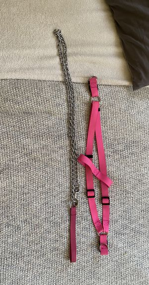 Dog leash and harness for Sale in Chula Vista, CA