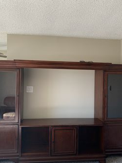 5 Piece Wood Entertainment Center for Sale in Littleton,  CO