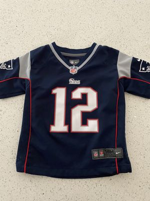 New England Patriots Jersey- 18m for Sale in Fullerton, CA