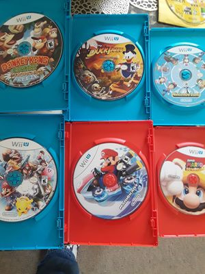 7 quality Wii U Games for Sale in Inglewood, CA
