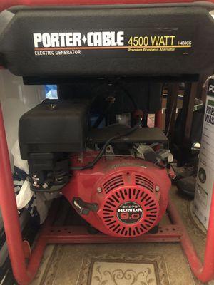 Honda 4500 Watt Generator for Sale in Dumfries, VA