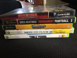 XBOX and XBOX 360 Games $1 EA or all for $5 for Sale in Naugatuck, CT