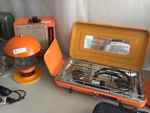 Camping equipment. Propane Stove lantern heater. Hardly used. for Sale in Martins Ferry, OH