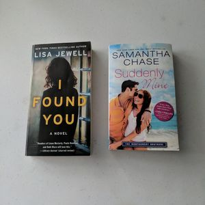 I Found You By Lisa Jewell /Suddenly Mine By Samantha Chase for Sale in York, PA