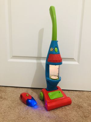 Spark my Light-up Vacuum Cleaner Toy with Hand-held dust buster. New batteries included for Sale in West Palm Beach, FL