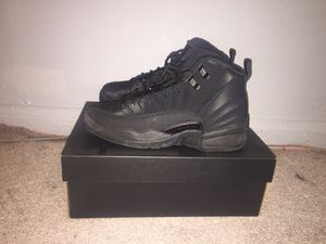 Jordan 12 all black size 6 for Sale in Silver Spring, MD