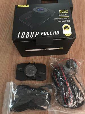 Dash camera dual 3inch screen 1080p hd for Sale in Meriden, CT