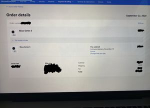 Xbox Series S Confirmed Pre Order (Will ship asap) for Sale in Irving, TX