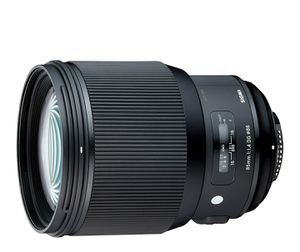 Sigma 85mm f/1.4 DG HSM Art Lens for Nikon F for Sale in Yonkers, NY