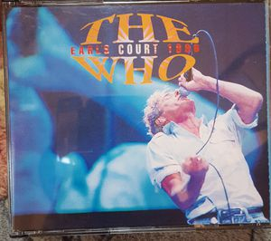 The Who Earls Court 2 CD set 1996 New for Sale in Richmond, VA