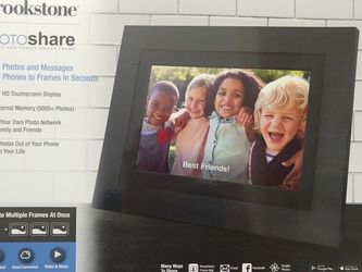 Brookstone Photoshare Smart Touchscreen Frame for Sale in Saint Charles,  MO