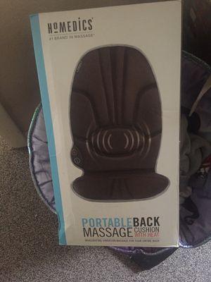 Brand New!! Homedics portable back massager for Sale in Nashville, TN