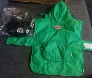 Small Doggie Raincoat and Harness for Sale in Seattle, WA