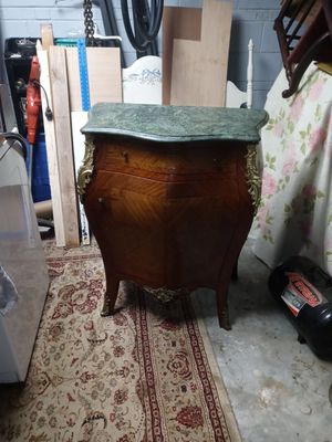 Marble top. Chest. Not antique for Sale in Brentwood, NC