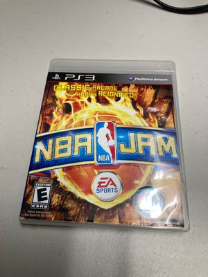 Ps3 PlayStation 3 nba jam for Sale in Miami, FL