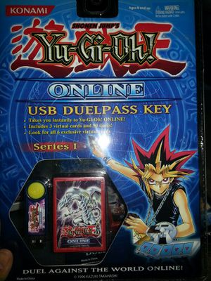 Yu-Gi-Oh online USB pass key for Sale in Tacoma, WA