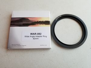 Wide Angle 82mm Adapter Ring for Sale in Waterloo, IA