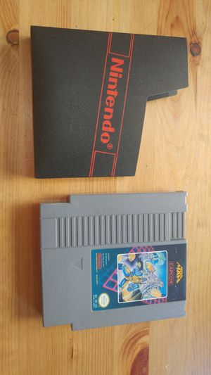 Super rare megaman 1 nes Nintendo video game cartridge w/ sleeve good condition for Sale in Tustin, CA