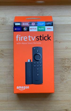 Brand New Amazon fire TV Stick will New Alexa Remote for Sale in Longmont, CO