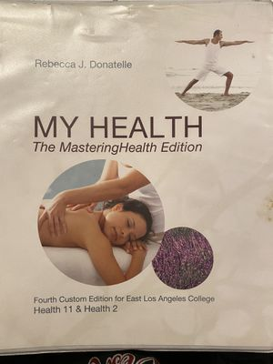 MY HEALTH // Rebecca J. Donatelle for Sale in East Los Angeles, CA