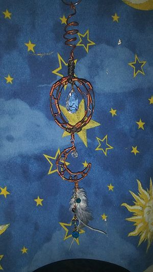 Crescent moon sun catcher for Sale in Conyers, GA