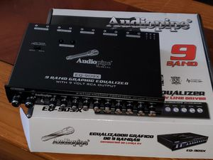 9 BAND AUDIOPIPE EQUALIZER PERFECT FOR TWEAKING YOUR CAR AUDIO SYSTEMS LIKE A PRO for Sale in Bronx, NY