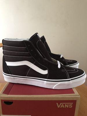 Brand new vans sk8-hi chocolate torte skate skateboard shoes (men's size 6.5,9, 9.5, 10, youth 6.5y, women's 8) for Sale in La Mesa, CA