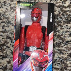 Power Rangers Beast Morphers Red Ranger - 12.0 in. Action Figure for Sale in Houston, TX