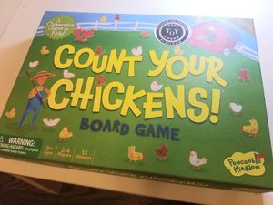 kids board game Count Your Chickens for Sale in Chicago, IL