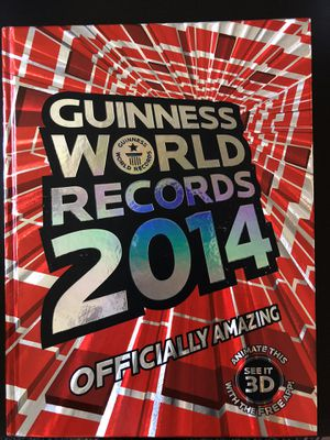 2014 Guinness World Records Book for Sale in Miami, FL